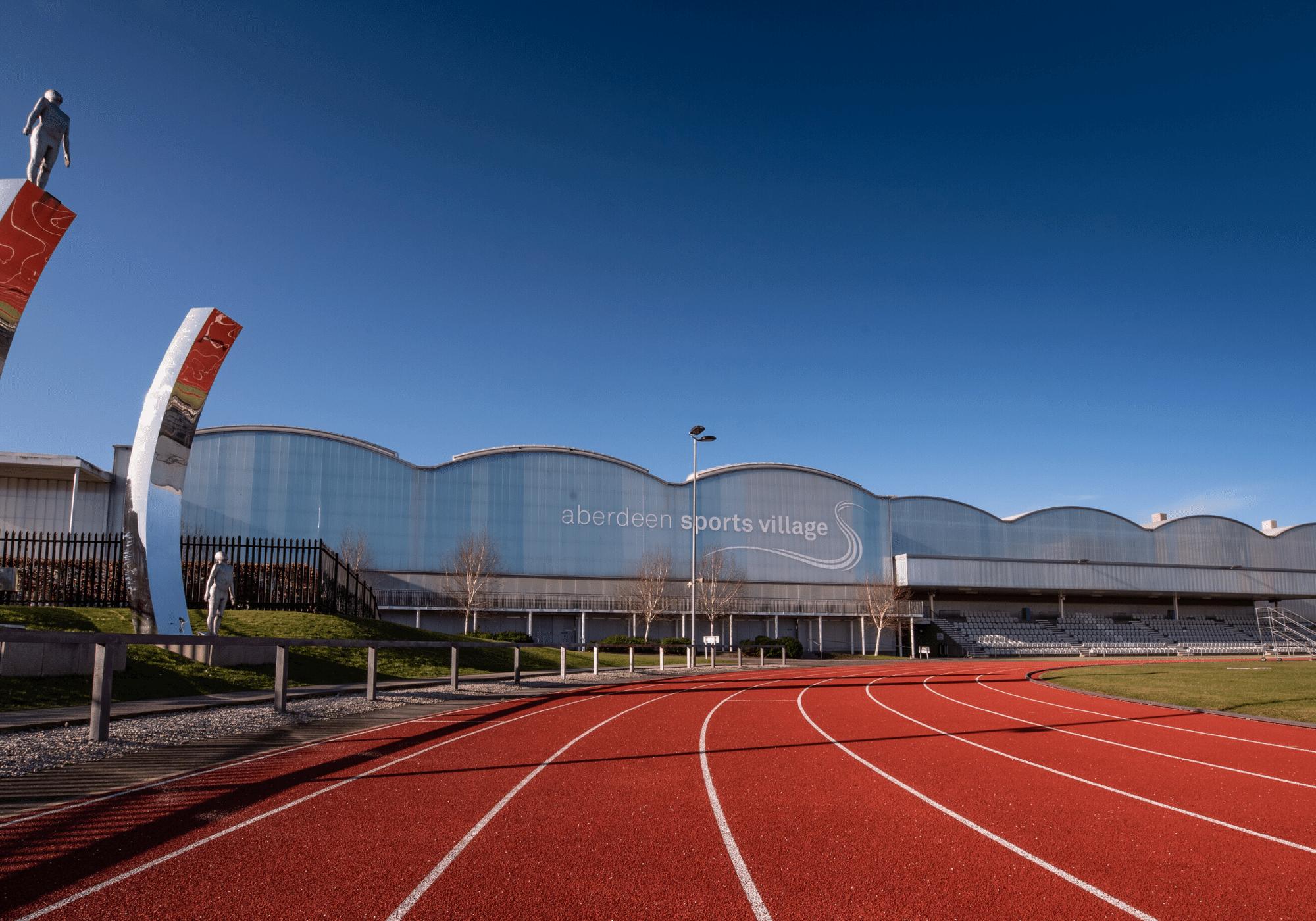 Aberdeen Sports Village running track
