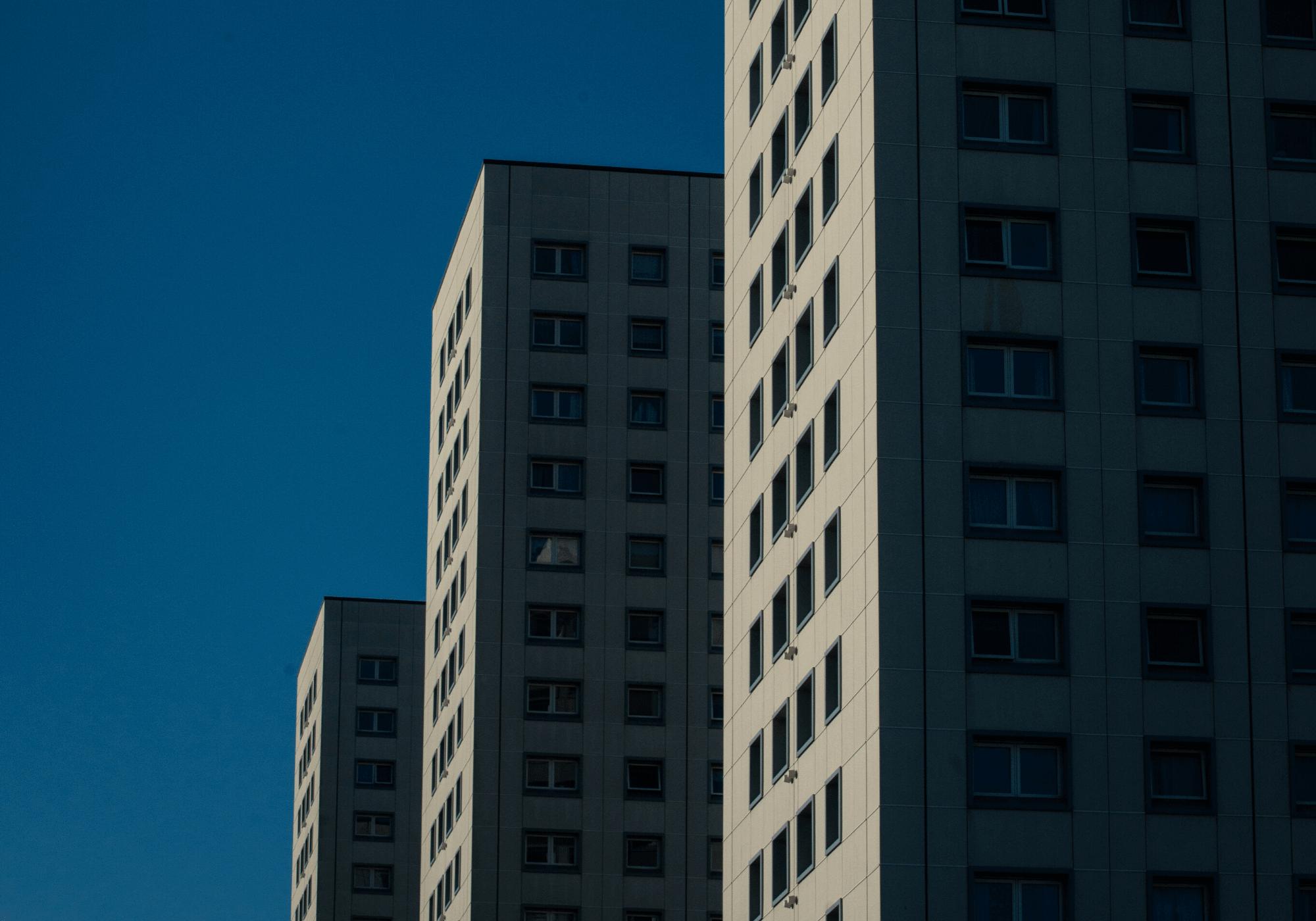 Aberdeen multi-storey flats