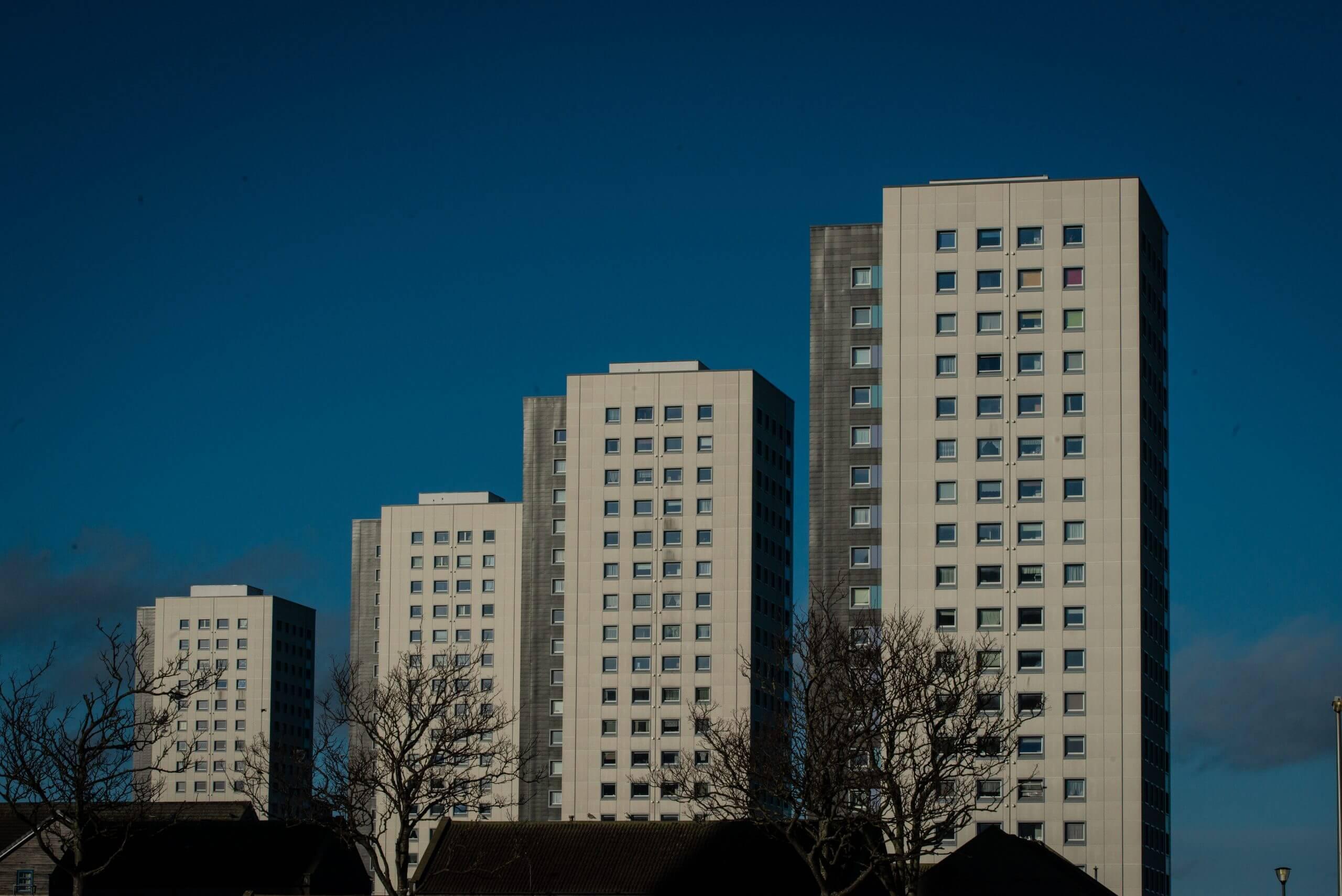 Multi-storey buildings in Aberdeen