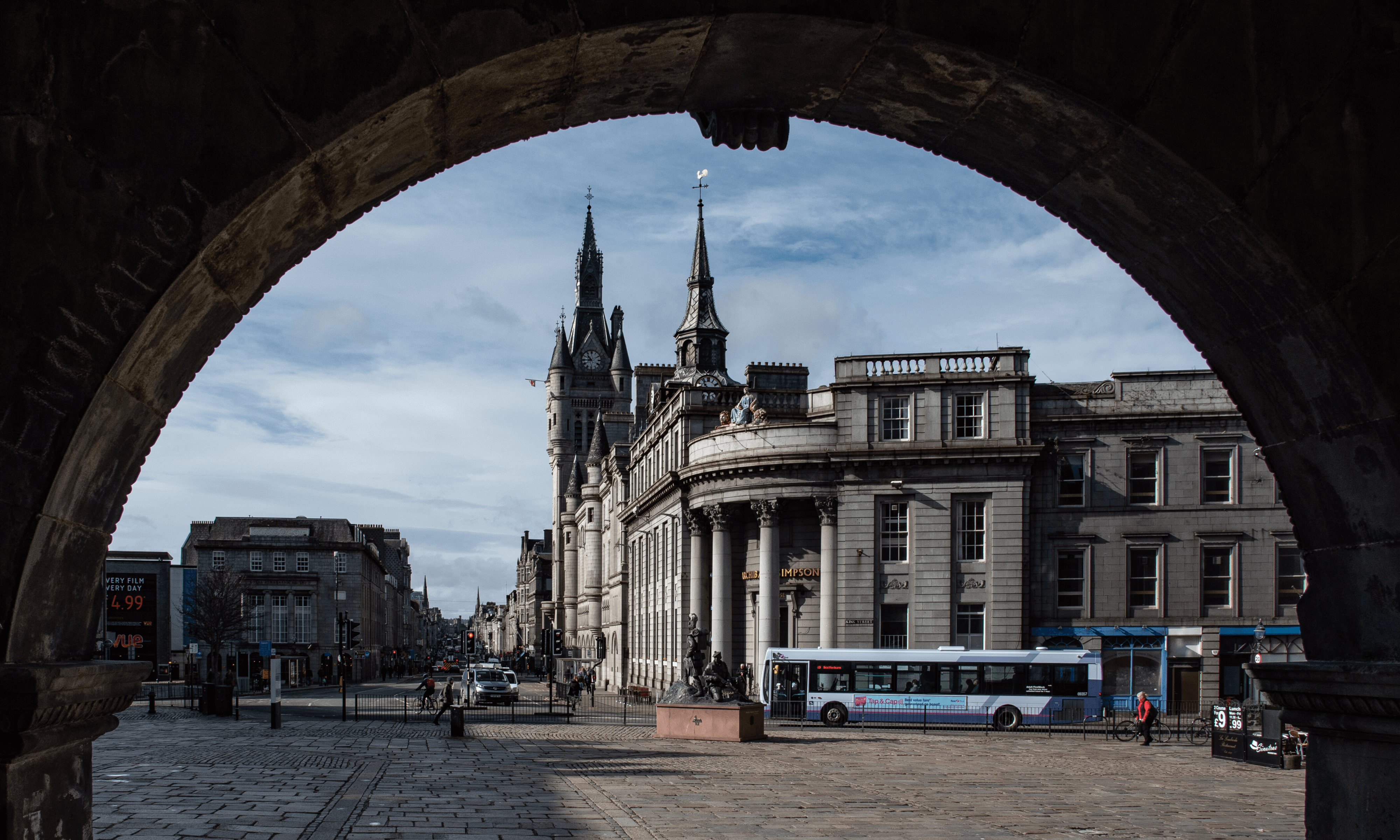 Aberdeen city high street