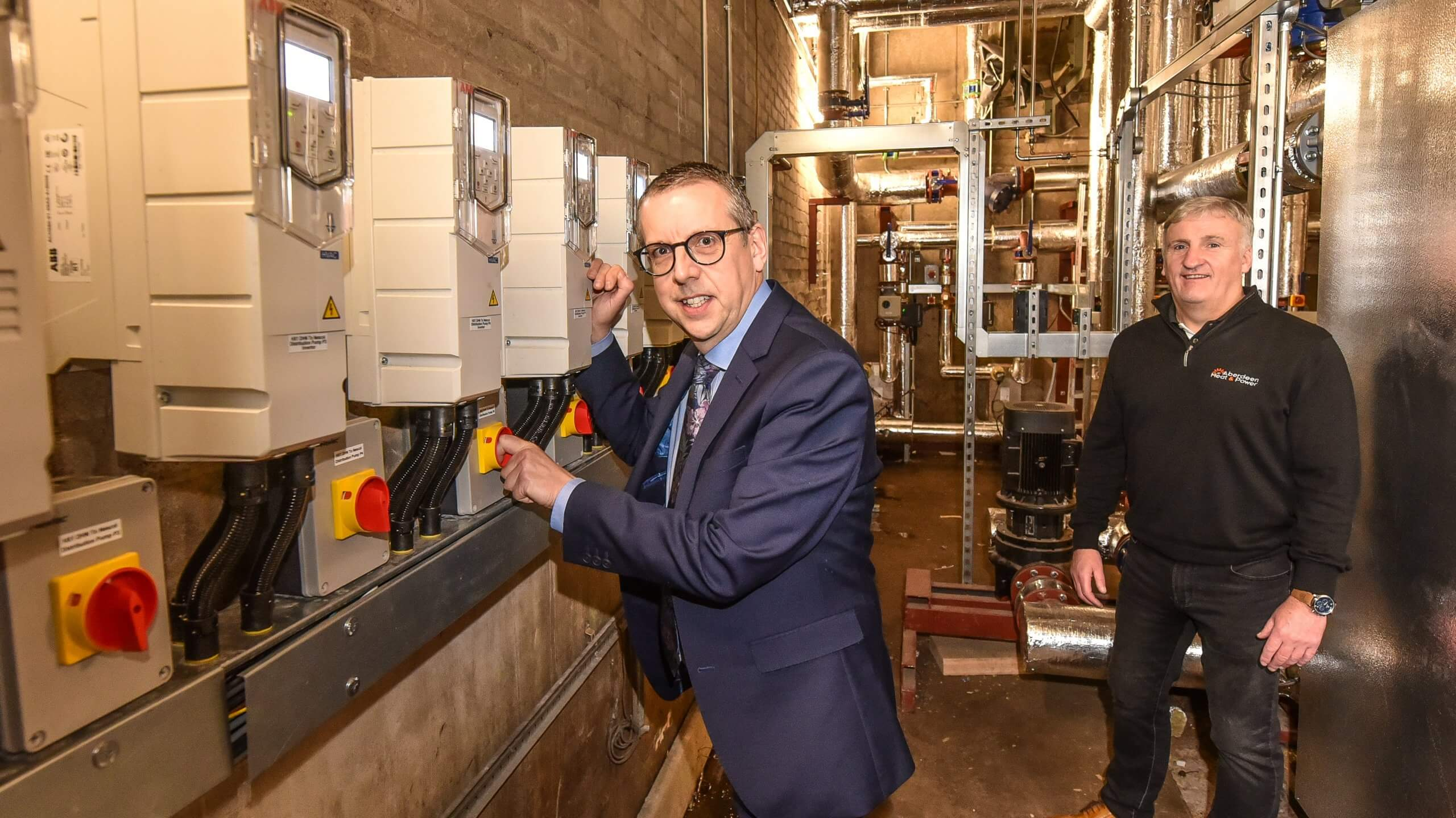 College poised for Aberdeen Heat & Power district heating network switch-on